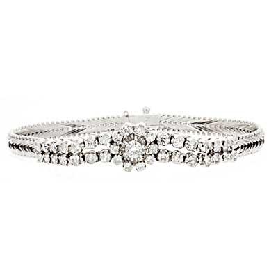18K Vintage Diamond Bracelet • GOLDARA